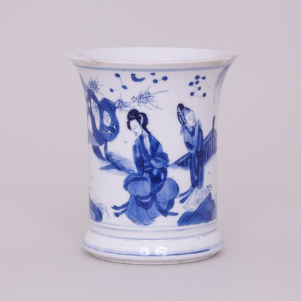 A CHINESE KANGXI BRUSH POT, Kangxi (1662-1722)