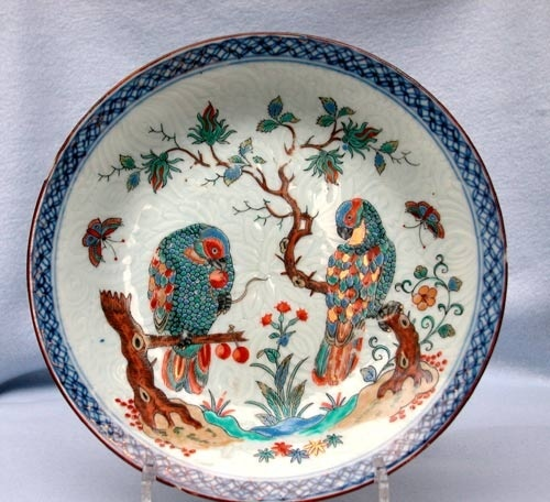 A SUPERB PAIR OF CHINESE DUTCH DECORATED PLATES & A SUPERB PAIR OF CHINESE DUTCH DECORATED PLATES 1710 - 1725   Anita ...